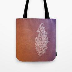 Indian Rustic Paisley Tote Bag