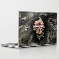 animal skull Laptop & iPad Skins featuring ANIMAL SKULL by sametsevincer