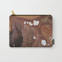 Copper abstract liquidity. Carry-All Pouch
