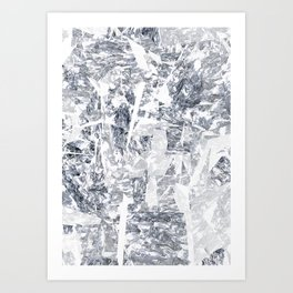 Mountain diamond Art Print