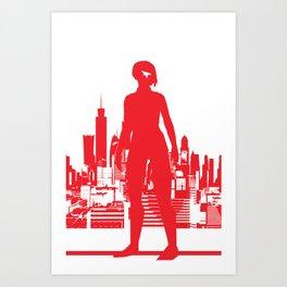 Mirror's Edge Minimalists Poster Art Print