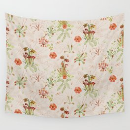 Carnivorous Floral Wall Tapestry