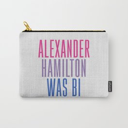 Alexander Hamilton Was Bi #2 Carry-All Pouch