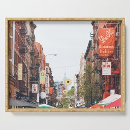 Mulberry Street Little Italy Serving Tray