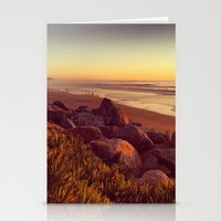 west coast Stationery Cards featuring coast by petervirth photography