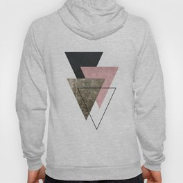 Modern Abstract Triangle 2 Hoody