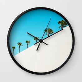 Parade of Palms Wall Clock