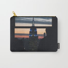New York City Skyline Empire State Building Carry-All Pouch