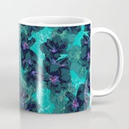 Hibiscus Blue Coffee Mug