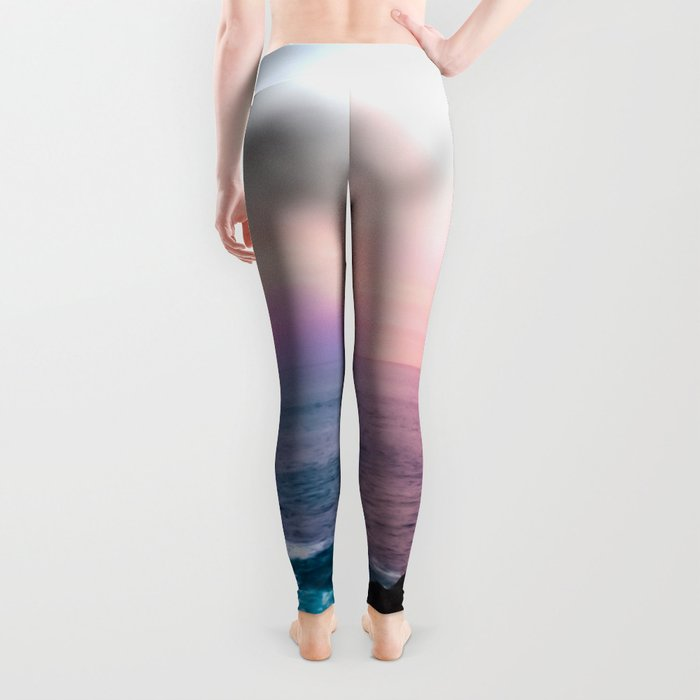 Sunset on the Bay of Biscay Leggings