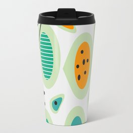 Mid-century abstraction Travel Mug