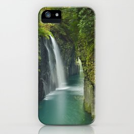 The Takachiho Gorge on the island of Kyushu, Japan iPhone Case