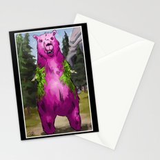 Armless Bear in Nature Stationery Cards