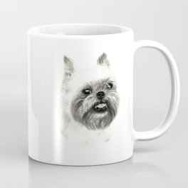 Brussels Griffon Drawing Coffee Mug