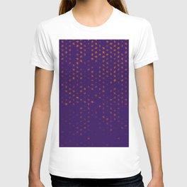 leo zodiac sign pattern po T-shirt