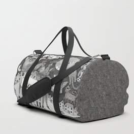 Cats at Night Duffle Bag