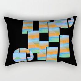 Take Me Away Baby Blues Rectangular Pillow