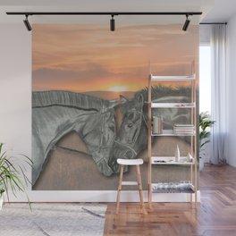 Equestrian Love Wall Mural
