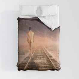 male nude art Comforters