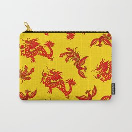 Phoenix Dragon Feng Shui Carry-All Pouch
