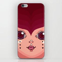 gypsy lady iPhone Skin
