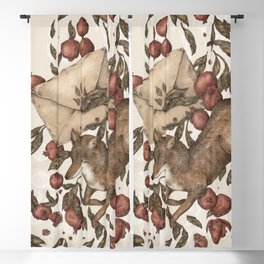 Coyote Love Letters Blackout Curtain