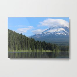 Beneath the Mountain Metal Print