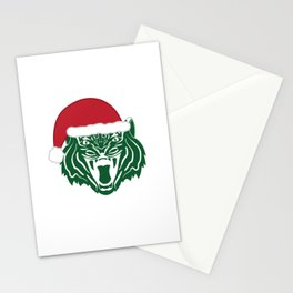 Christmas Tiger Stationery Cards