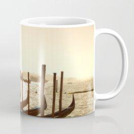 Venice, Italy. Gondolas at sunrise. Coffee Mug