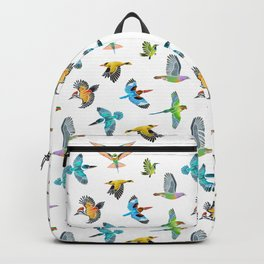 Colourful birds of Singapore Backpack