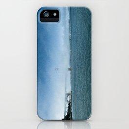 Golden Gate Bridge + Fog iPhone Case