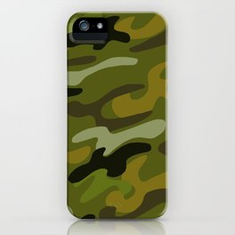 Camouflage 1 iPhone Case