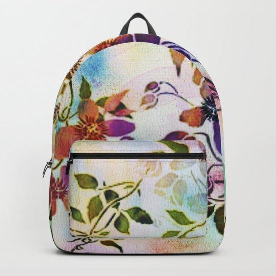 garland of flowers Backpack