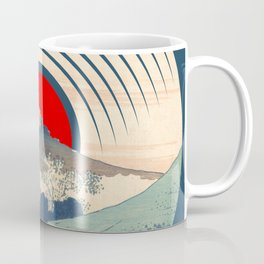 Rubino Wave LP Record Vinyl Asian Japan Coffee Mug