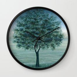 On the Right Path Wall Clock