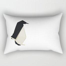 Origami Penguin Rectangular Pillow