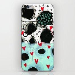 Falling Hearts iPhone Skin