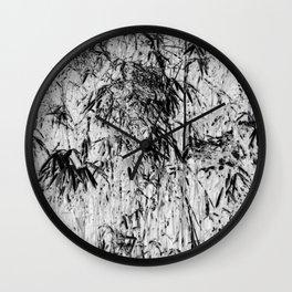 Bamboo Inverted Wall Clock
