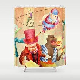 Mr Kite Shower Curtain