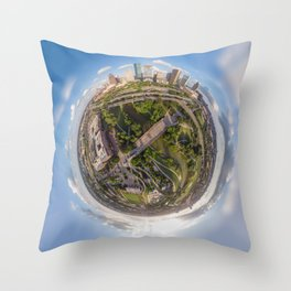 Houston is out of this world! Throw Pillow