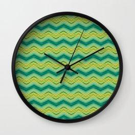 Grass Wave Wall Clock
