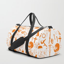 Buffy Symbology, Orange Duffle Bag