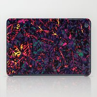 marx iPad Cases featuring Flora Celeste Purple Amethyst by Meteora