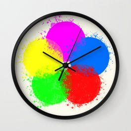 Krylon Wall Clock