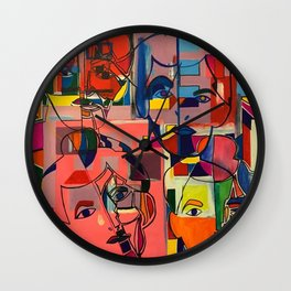 Matisse Remixed Wall Clock