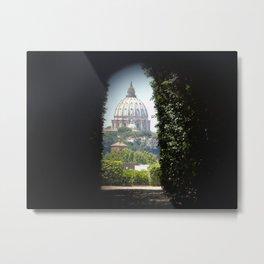 Buco della Serratura Metal Print