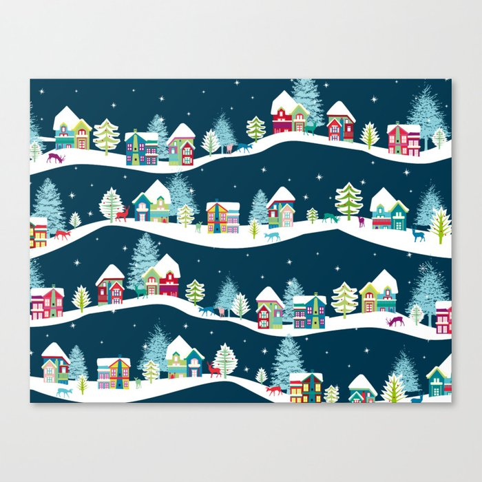 Apres Ski Canvas Print