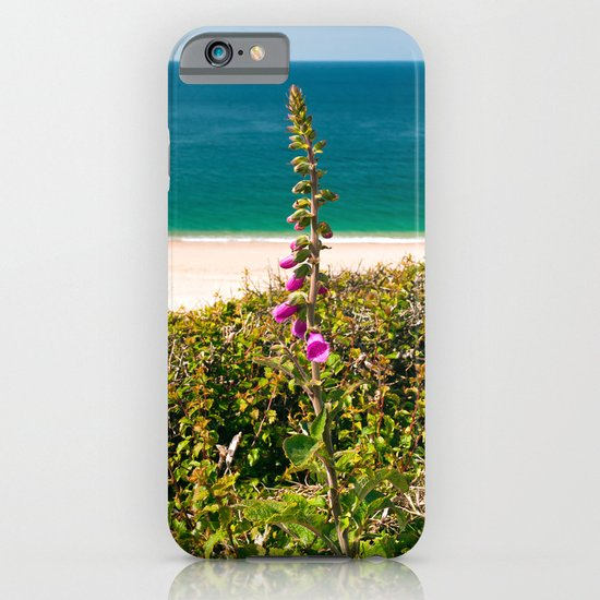 Foxglove On The Beach iPhone & iPod Case