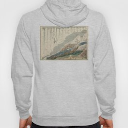 1854 Comparative Lengths of Rivers and Heights of Mountains Hoody