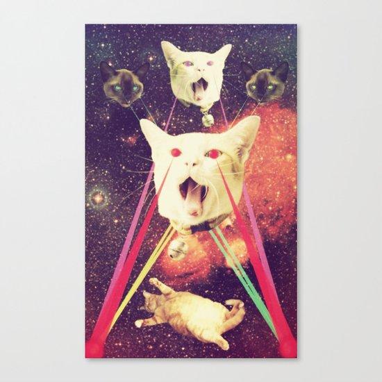 galactic Cats Saga 4 Canvas Print